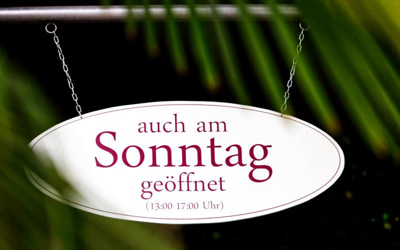 auch am Sonntag Shoppen in der Boutique Am Park in Bad Klosterlausnitz