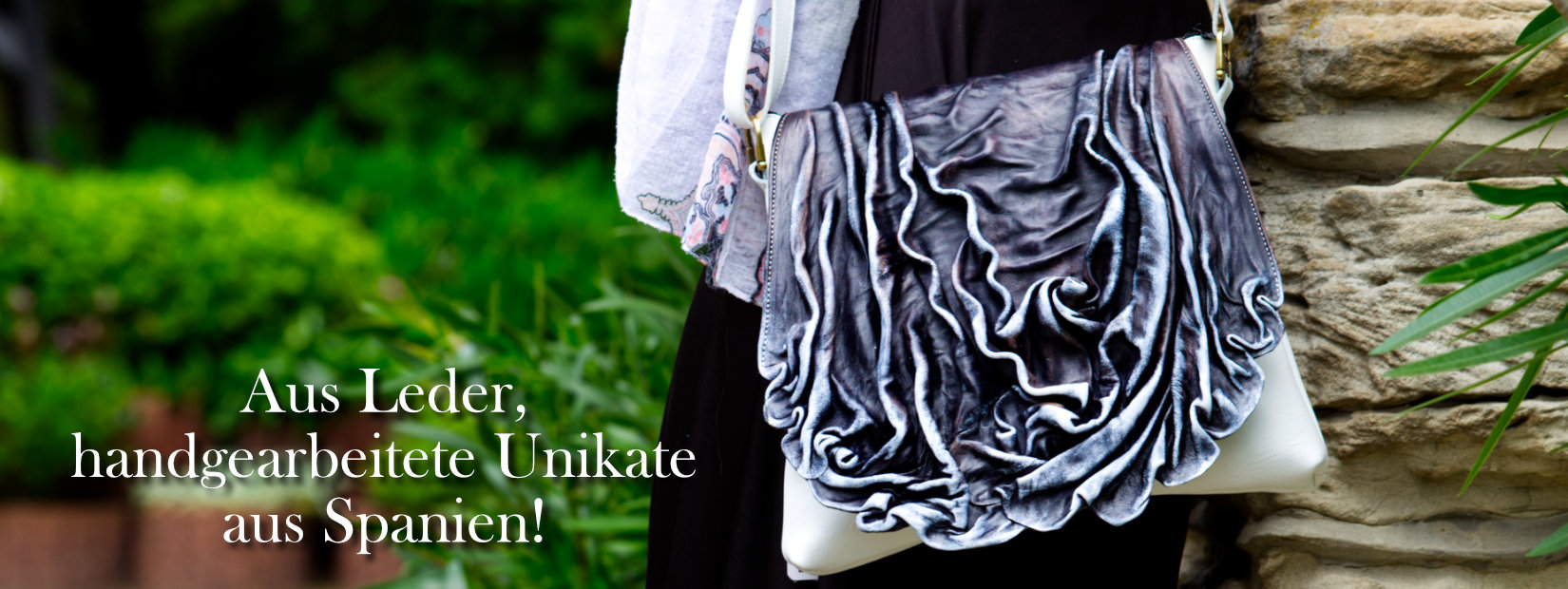 Tasche Leder Unikat Handarbeit